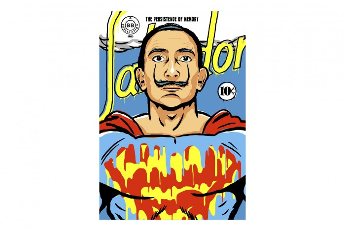 Постер Сальвадор дали