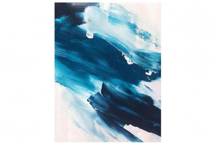 Картина Текстура синяя